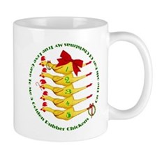 5 Rubber Chickens Mug