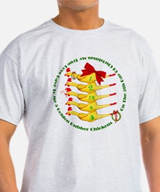 5 Rubber Chickens T-Shirt