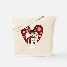 Froggy Christmas Tote Bag