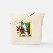 New Hampshire , We Brake for Tote Bag