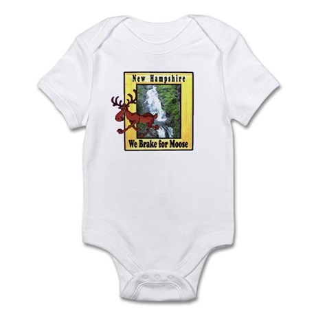 New Hampshire , We Brake for Infant Bodysuit