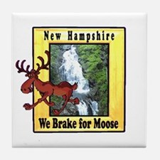 New Hampshire , We Brake for Tile Coaster