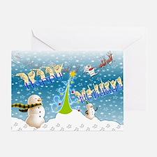 Holiday, happy Greeting Card