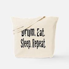 Drum.Eat.Sleep.Repeat. Tote Bag