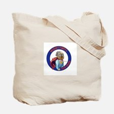 Mighty Mite Dog  Tote Bag