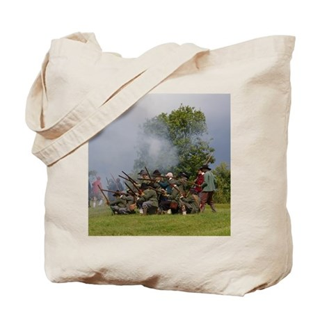 Musket fire Tote Bag