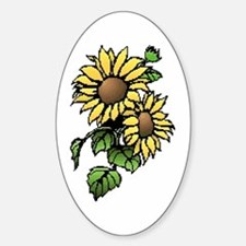 HAPPY OSTARE Oval Decal