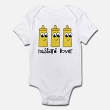 Mustard Lover Infant Bodysuit
