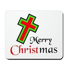 KEEP CHRIST IN CHRISTMAS Mousepad