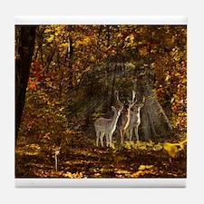 Wild Deer Tile Coaster