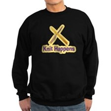 Knit Happens Kitting Happens Sweatshirt