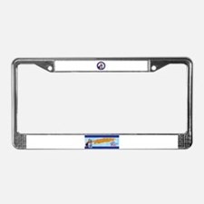 Mighty Mite Dog  License Plate Frame