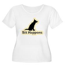 Sit Happens Dog Gifts T-Shirt