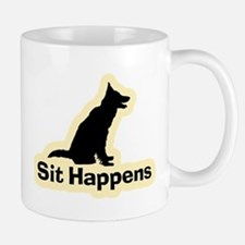 Sit Happens Dog Gifts Mug