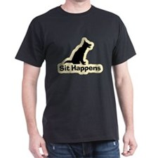 Sit Happens Dog Gifts T-Shirt