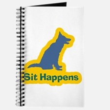 Sit Happens Dog Gifts Journal