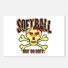 Softball, Not so soft. Postcards (Package of 8)