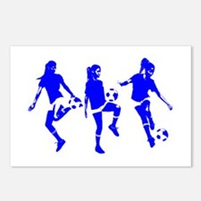 Blue Express Yourself Female Postcards (Package of