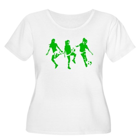 Green express Yourself Female Women's Plus Size Sc