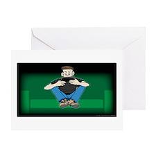 Video Kid Greeting Card