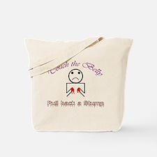 Pull Back a Stump Tote Bag