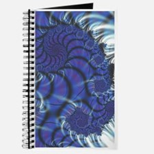 Midnight Flares Fractal Journal