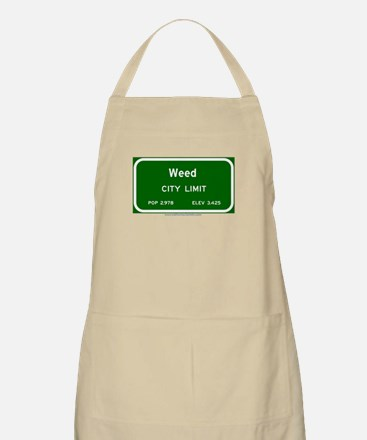 Weed BBQ Apron