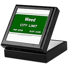 Weed Keepsake Box