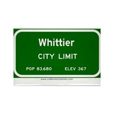 Whittier Rectangle Magnet
