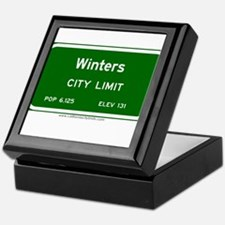 Winters Keepsake Box