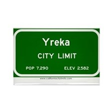 Yreka Rectangle Magnet