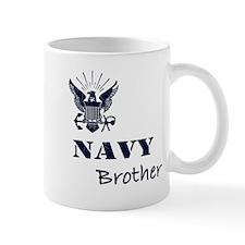 Navy Grunge Brother Mug