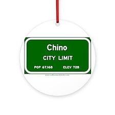 Chino Ornament (Round)
