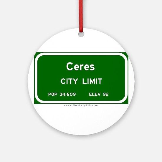 Ceres Ornament (Round)
