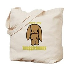 Snuggle Bunny Tote Bag