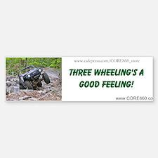 3 Wheeling 1 - Bumper Bumper Bumper Sticker