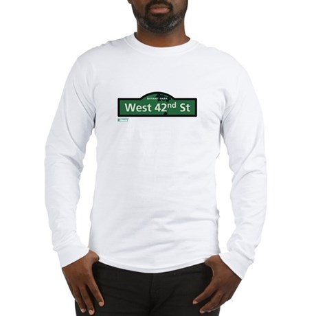 West 42nd Street in NY Long Sleeve T-Shirt