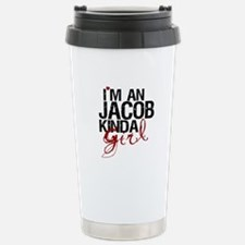 Jacob Kinda Girl Travel Mug