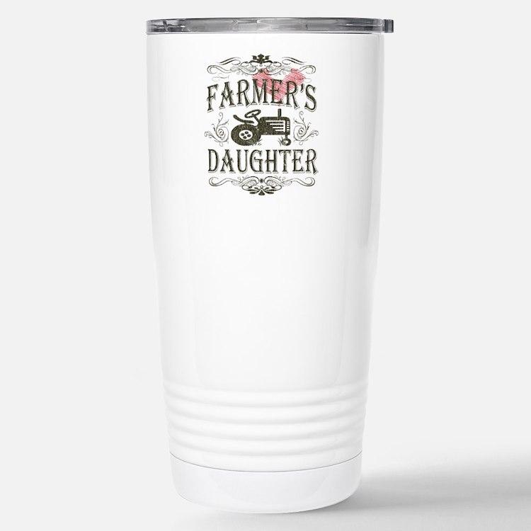 Farmer's Daughter Stainless Steel Travel Mug