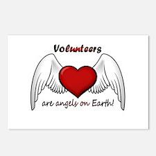 Angel Volunteer Postcards (Package of 8)