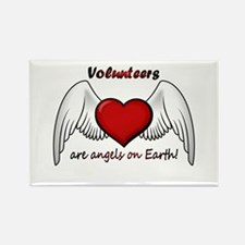 Angel Volunteer Rectangle Magnet