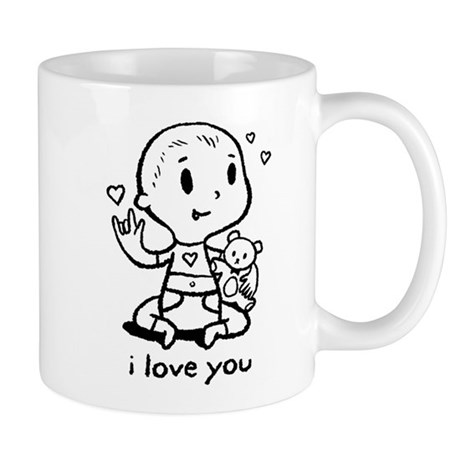 ASL I love You Mug