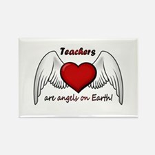 Angel Teacher Rectangle Magnet