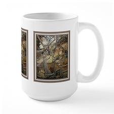 Second look mule deer, Large mug