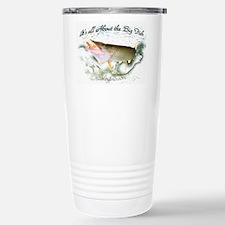Tiger Muskie fishing Travel Mug