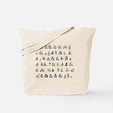 Ampersandz! Tote Bag