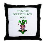 pop psychology Throw Pillow