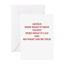 do what you are told Greeting Card