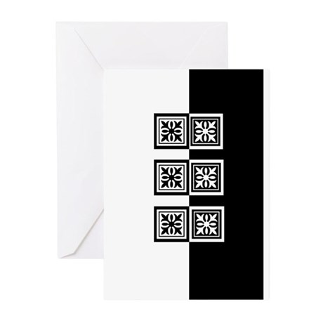 Black & White Greeting Cards (Pk of 10)