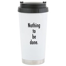 Godot Nothing Thermos Mug